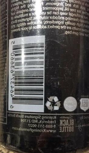 Black Wash Tea Tree Oil & Tolnaftate 9oz Sealed