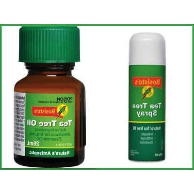 bosisto s tea tree spray and oil