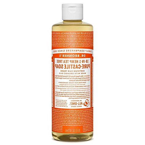 bronners tea tree castile soap