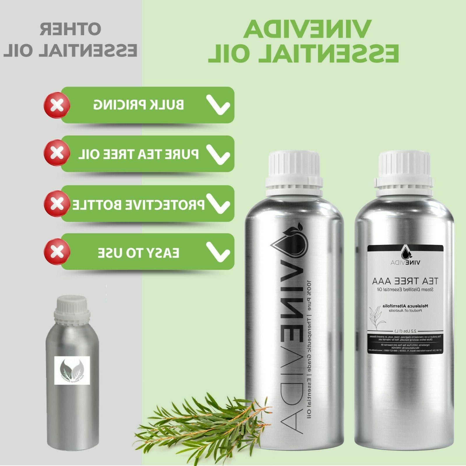 Bulk Essential Tree Aluminum Bottle 100%