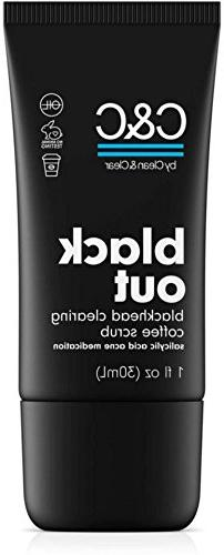 C&C by Clean & Clear Black Out Blackhead Clearing Coffee Fac