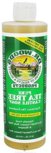 DR. WOODS NATURALS CASTILE LIQ SP,TEA TREE, 16 FZ