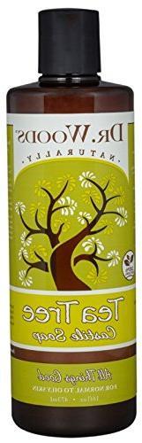 Dr. Woods Naturals Castile Liq Sp Tea Tree 16 Fz