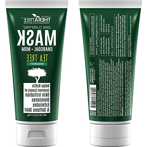 Clarifying Mud Mask Charcoal & Tea Tree for Body - by