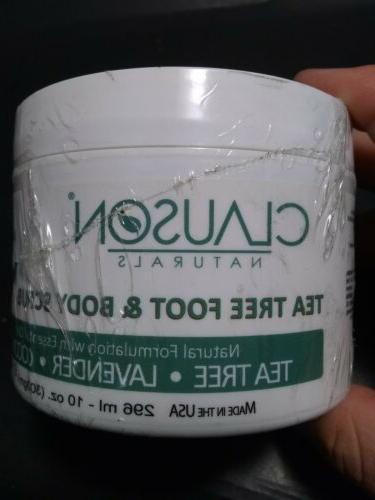Clauson Naturals Tea Oil & Scrub oz Coconut