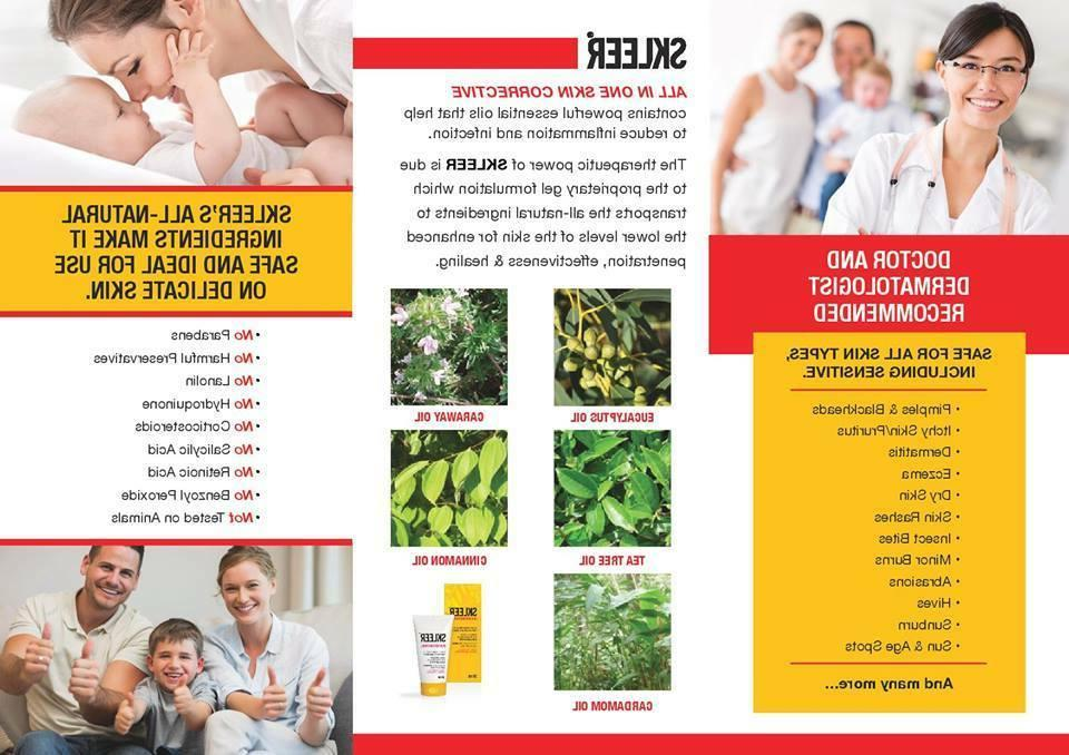 Close Large, Open Reduce Tea Tree Oil - SKLEER