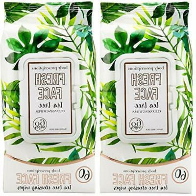 cloths and towelettes 2 pack 60 count