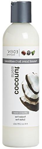 EDEN BodyWorks Coconut Shea Leave-In Conditioner, 8oz