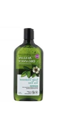 Avalon Organics Conditioner - Scalp Treatment Tea Tree 325ml