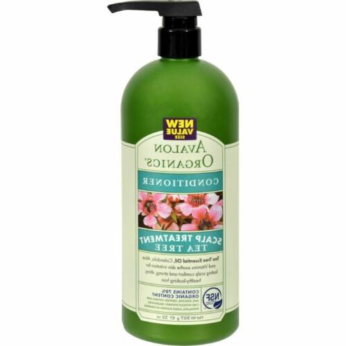 Conditioner Tea Tree Avalon Organics 32 oz Liquid
