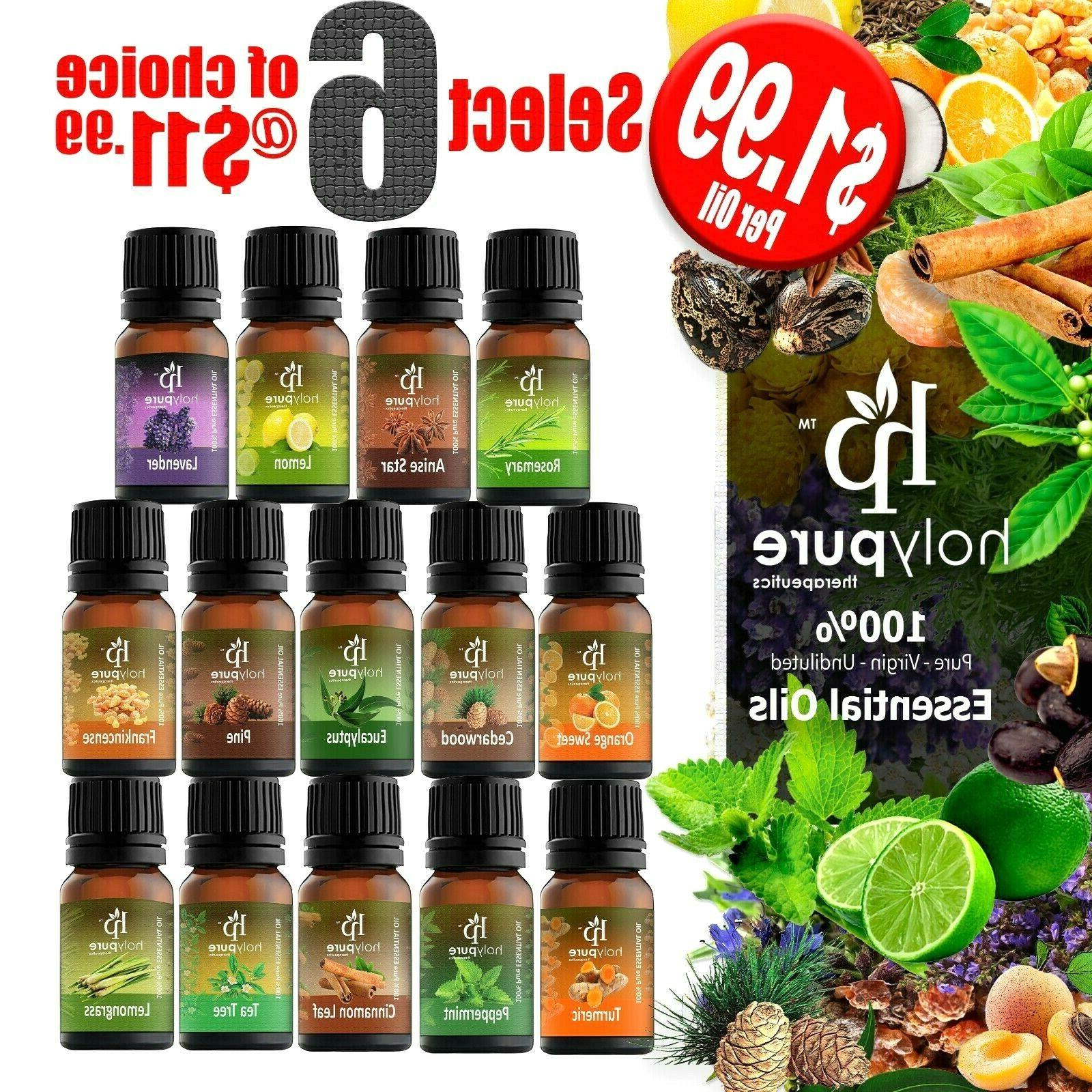 create a set of 6 essential oils