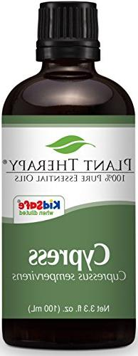 Plant Therapy Cypress Essential Oil 100 mL 100% Pure, Undilu