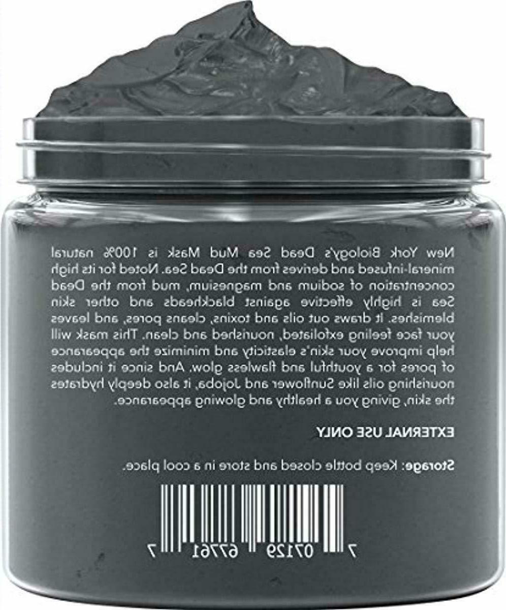 New York Biology Sea Mud Mask for Face - All Natural - Quality