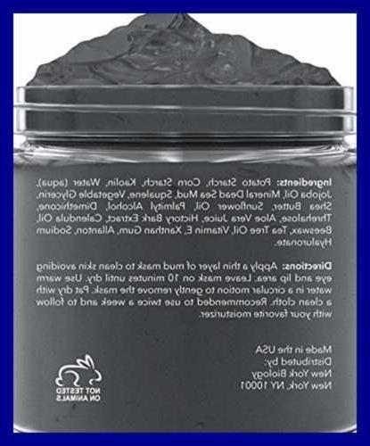 New Dead Sea Mud Infused W Tea 100% Natural Spa Quality