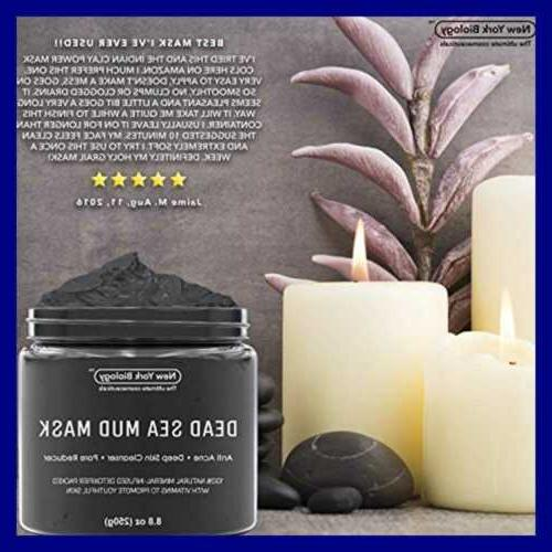 New York Biology Dead Sea Mud Infused W Tree Natural Spa Quality