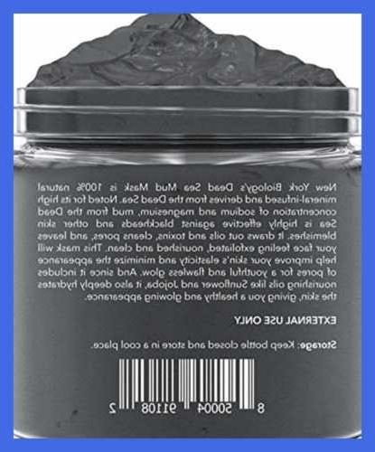 New York Sea Mud Mask Infused W Natural Spa P