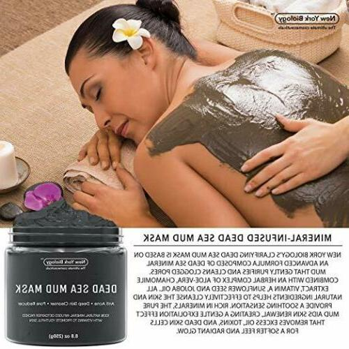 New York Biology Sea Mud Mask Infused with Tea 100%