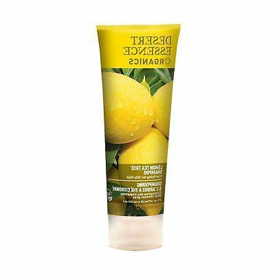 Desert Essence Organics Hair Care Shampoo Lemon Tea Tree -
