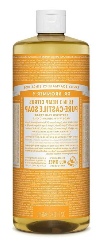 dr bronner s organic pure castile liquid