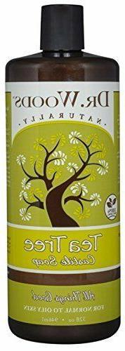 Dr. Woods Gentle Pure Cleansing Tea Tree Liquid Castile Soap