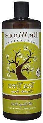 dr woods pure tea tree liquid castile