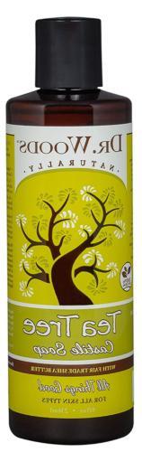 Dr. Woods Pure Tea Tree Liquid Castile Soap with Organic She