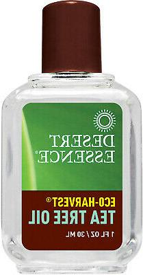Desert Essence Eco Harvest Tea Tree Oil, 1 Fluid Ounce