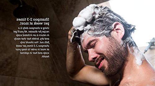 Dr. Shampoo Dandruff, Dry and Hair Loss Moisturizing Organic Tea Tree Oil Shampoo for