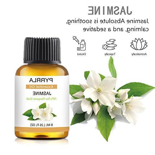 Essential Set ml Pure Oil Tree,Ylang Ylang,Lavender,Jasmine,Orange,Peppermint,Grapefruit,Clary Sage,Clove,Citronella,Vanilla,Vetiver,Myrrh,Patchouli
