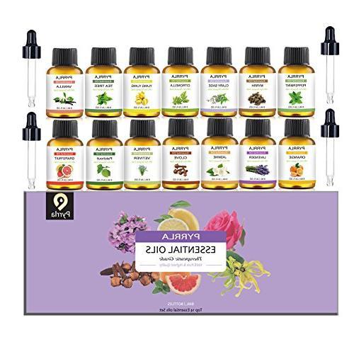 essential oils set therapeutic grade