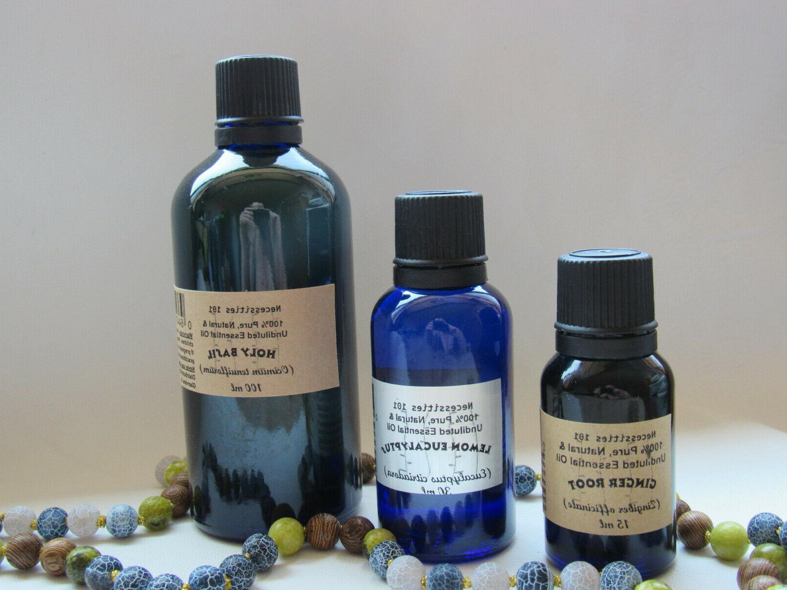 essential oils undiluted 100 percent pure