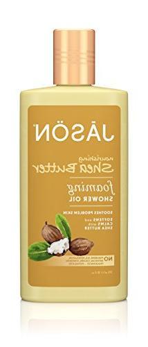 Jason Foaming Shower Oil, Nourishing Shea Butter, 10 Fluid O