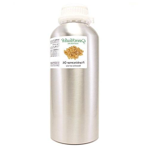 frankincense aluminum bottle w plug