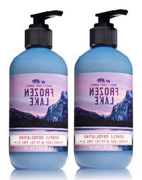 Bath and Body Works 2 Pack Gentle Exfoliating Hand Soap Froz