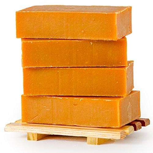 Natural Goat Milk Soap - and Free - Handmade in USA Cracked Skin, and - Overall Skin Relief