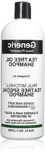 GVP Tea Tree Oil Shampoo - Compare to Paul Mitchell Special,