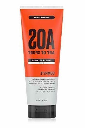 hair and body wash 2in1 with tea