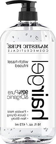 Hair Gel for Men & Woman - Styling with Organic Aloe Vera &