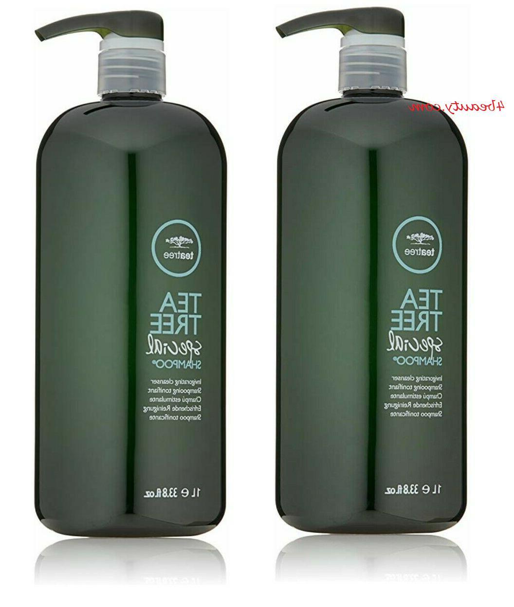 Shampoo Haircare TEA TREE SPECIAL SHAMPOO INVIGORATING CLEAN