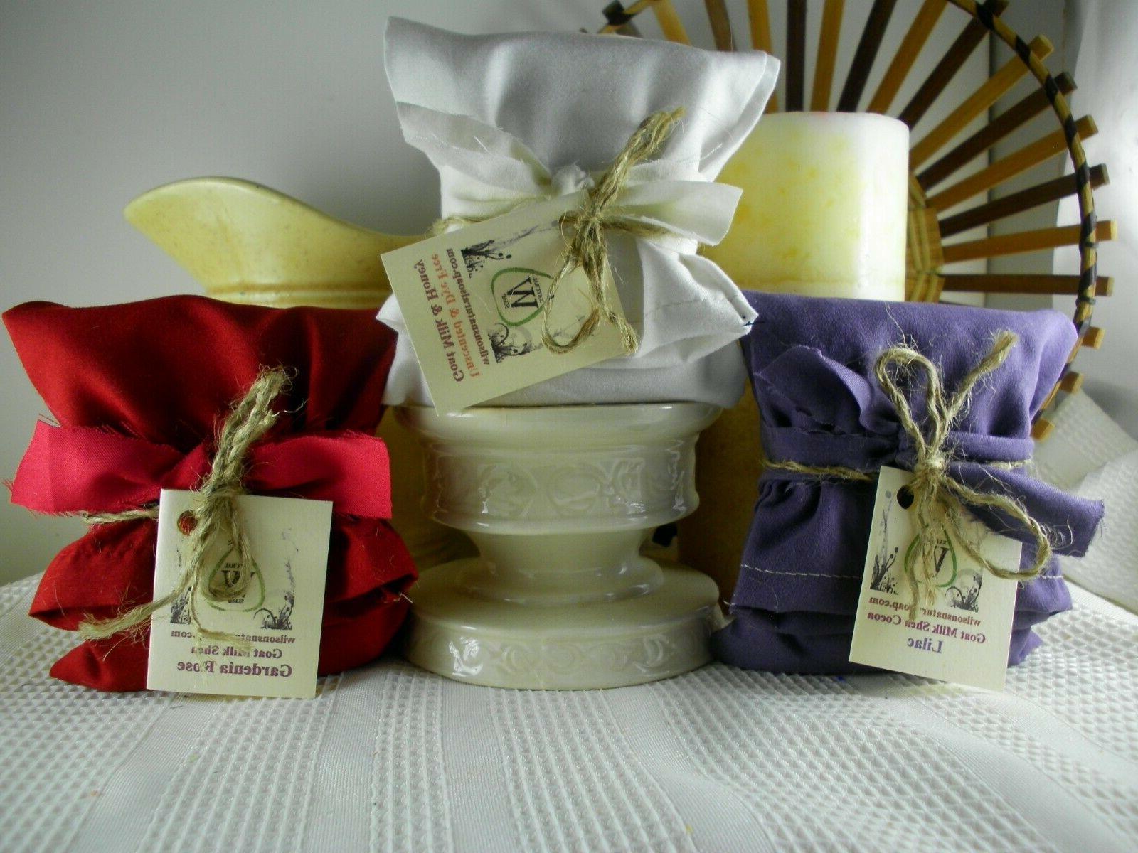 Herbal Goat Soap, Gift Natural Organic