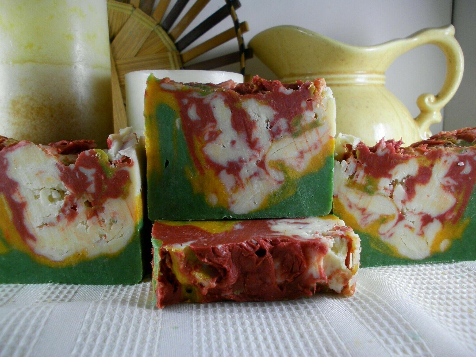 Herbal Shea Goat Milk Soap, Tea Gift Natural