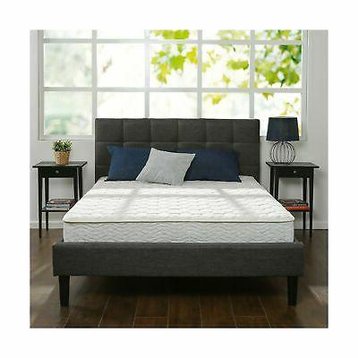 Zinus 8 Inch Hybrid Green Tea Foam And Spring Mattress, Quee