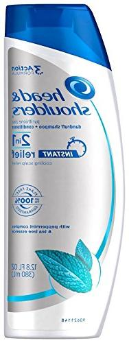 Head & Shoulders Instant Relief 2-in-1 Dandruff Shampoo and