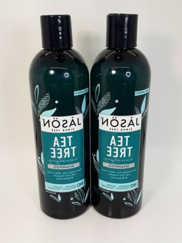 jason tea tree normalizing shampoo 17 5