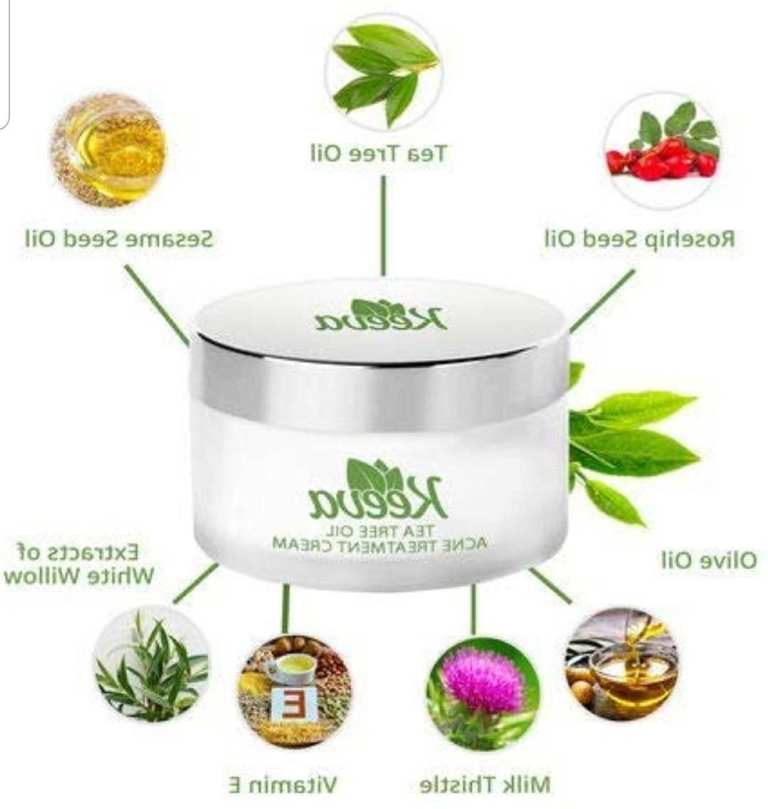 KEEVA Tea Acne Skin Types, etc.