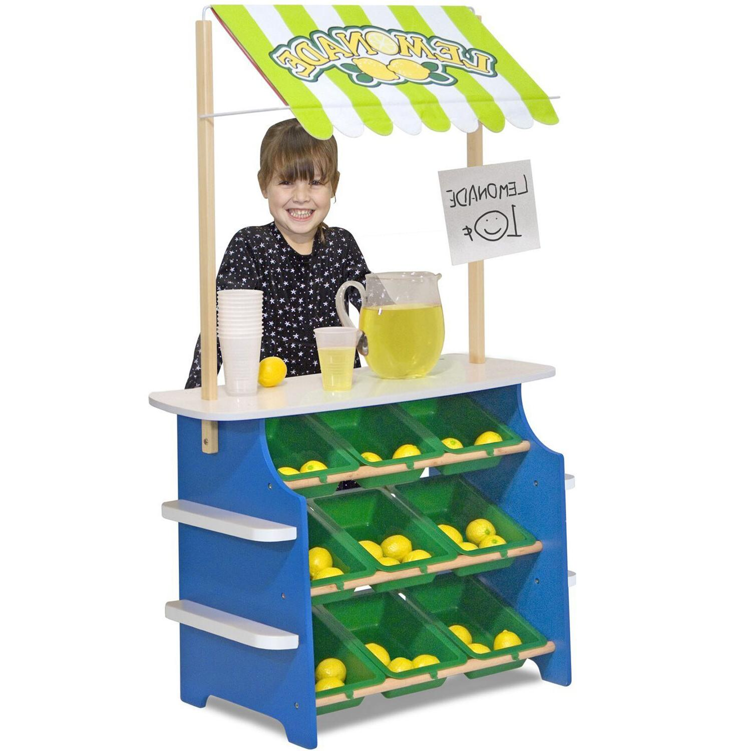 Wooden Stand Kid Play