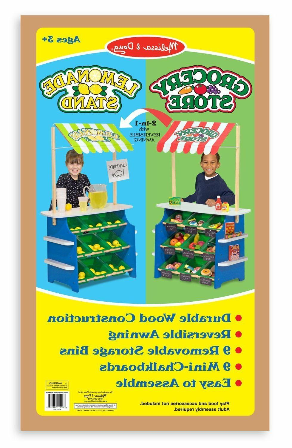 Wooden Store Lemonade Stand Kid Toy Toddler Activity