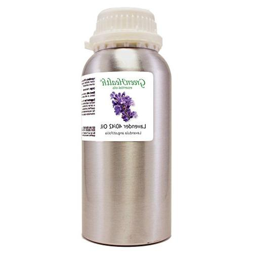 lavender aluminum bottle w plug