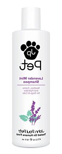 John Paul Pet Lavender Mint Shampoo for Dogs and Cats, Sooth