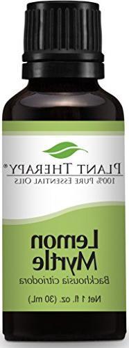 Plant Therapy Lemon Myrtle Essential Oil 30 mL  100% Pure, U